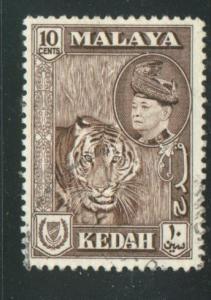 Malaya - Kedah Sct # 88; used