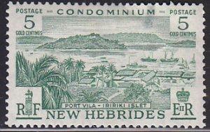 British New Hebrides 82 Port Vila and Iririki Islet 1957