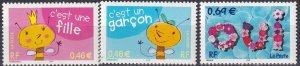 France #2874-6  MNH CV $4.80 (Z7905)