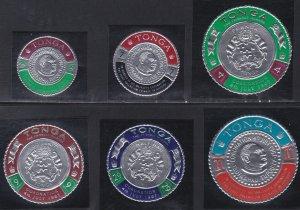 Tonga # 175-181, C27-33, Kings Coronation, NH, 1/2 Cat.