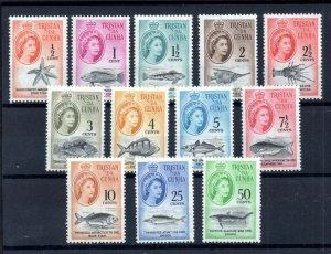Tristan Da Cunha QEII 1961 LHM set to 50c WS18498