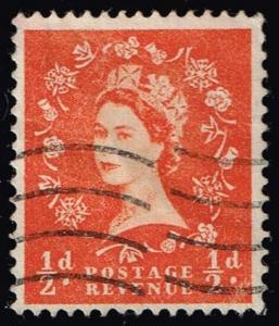 Great Britain #317 Queen Elizabeth II; Used (0.25)