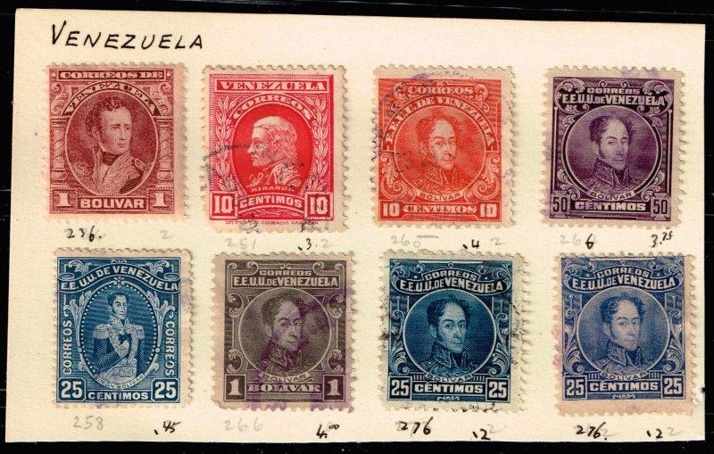 Venezuela Stamp USED STAMPS LOT