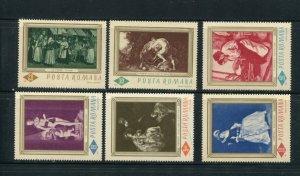 Romania #1859-64 MNH