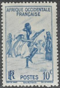 DYNAMITE Stamps: French West Africa Scott #36 – MINT