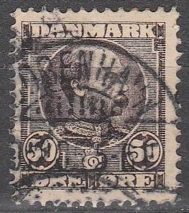 Denmark #68  F-VF Used CV $120.00 (C5968)