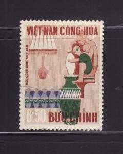 South Vietnam 311 U Potter and Vase