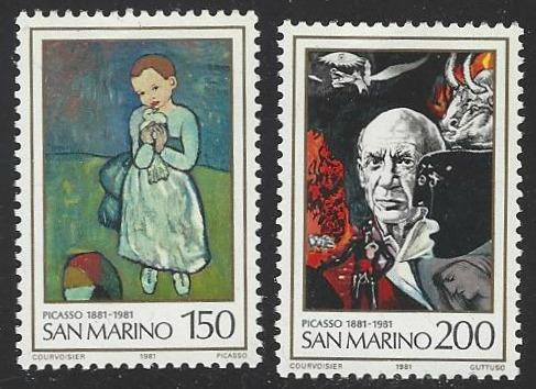 San Marino #1012-1013 MNH Full Set of  2