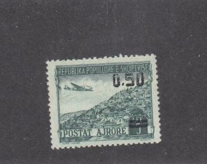 ALBANIA # C61 VF-MNH CAT VALUE $22.50