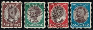 Germany #432-435 Lost Colonies Set of 4; Used (3Stars)
