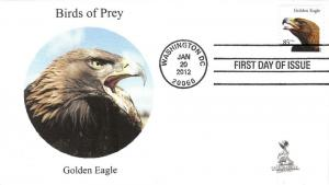 Birds of Prey First Day Cover, w/ 4-bar cancel,  #1 of 6