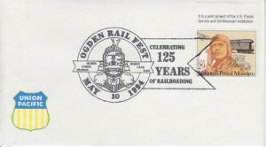 1994 Ogden Utah Railfest 125 Years Railroads Pictorial