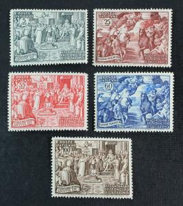 Vatican City Scott 149-153 MNH** 1951 Council of Chalcedon