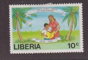 Liberia 1079 US Peace Corps 1988