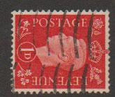 GB George VI  SG 463a Used wmk sideways