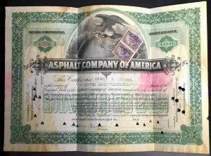Scott #R171 VF - 50c Slate Violet - Revenue Stamps - Used Pair on document -1898