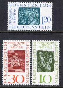 Liechtenstein 401-403 MNH VF