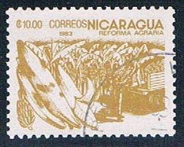 Nicaragua Bananas 1000 - pickastamp (NP7R606)