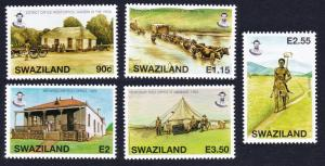 Swaziland Old Post offices 5v SG#760-764