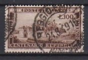 1949 Italy Scott # 518 Centenary of the Republc used