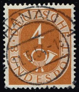 Germany #671 Numeral and Post Horn; Used (0.30)