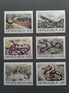 Venezuela 1007-1012 F-VF MH. Scott $ 6.25