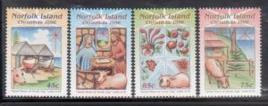 Norfolk Islands 610-13 Christmas Mint NH