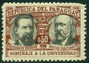 Paraguay 1940 #O99 MH SCV (2018) = $0.50