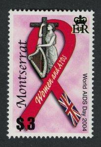 Montserrat World AIDS Day 2004 MNH SG#1264