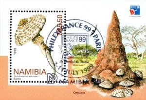 Namibia - 1999 PhilexFrance MS MNH** SG MS844