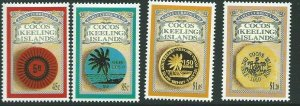 COCOS (KEELING) ISLANDS SG280/3 1993 EARLY CURRENCY MNH