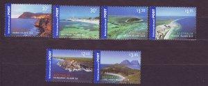 J23461 JLstamps 2007 australia set mnh #2627-32 islands