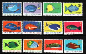 Cocos (Keeling) Is.-Sc#304-15-unused NH set-Fish-Marine Life-1995-97-