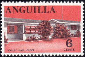 Anguilla # 22 mnh ~ 6¢ Valley Post Office