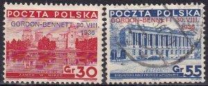 Poland #306-7 F-VF  CV $6.25 (Z8386)