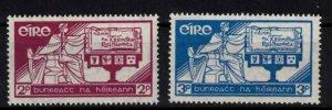 Ireland - Sc99-100 Constitution day mint - CV $9