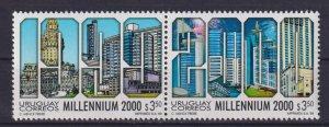 Uruguay 1999 Millennium  (MNH)  - Architecture