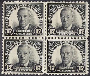 697 Mint,OG,NH...Block of 4... SCV $29.00