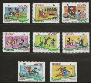 Lesotho (1983)  - Scott # 412 - 419,  MNH