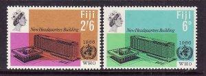 Fiji-Sc#224-5-unused NH Omnibus set-WHO-id2-1966-