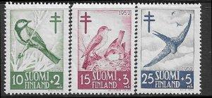 12509 Finland B117 - 119 mlh 2017 SCV $11.25