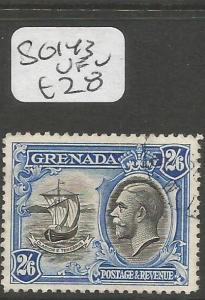 Grenada SG 143 VFU (4cgx)