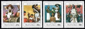 Transkei - 1990 Diviners Set MNH** SG 253-256
