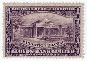 (I.B) Cinderella - British Empire Exhibition : Lloyds Bank