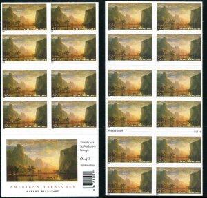 US SCOTT 4346a BOOKLET AMERICAN TREASURES 42¢ MNH Albert Bierstadt  Painter