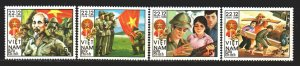 Vietnam. 1984. 1521-26 from the series. 40 years of the army of Vietnam. MNH.
