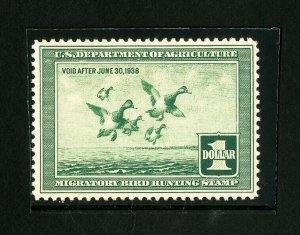 US Stamps # RW4 Superb OG NH Mint State Gem