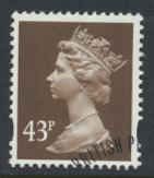 Great Britain SG Y1716 Sc# MH232    Used with first day cancel - Machin 43p