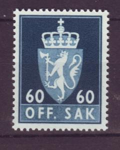 J18334 JLstamps 1955-61 norway hv of set mnh #o75 official
