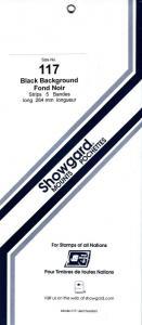 SHOWGARD BLACK MOUNTS 264/117 (5) RETAIL PRICE $11.95